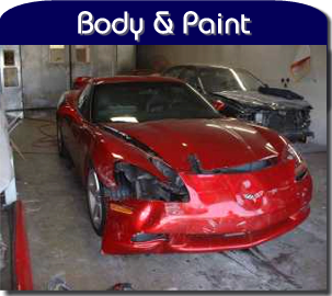 Corvettes of Auburn does body work!